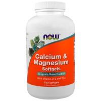 Now Foods, Calcium & Magnesium, 240 Softgels