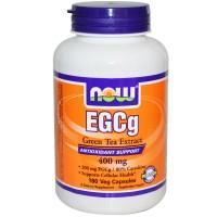 Now Foods, EGCg, Green Tea Extract, 400 mg, 180 Veggie Caps